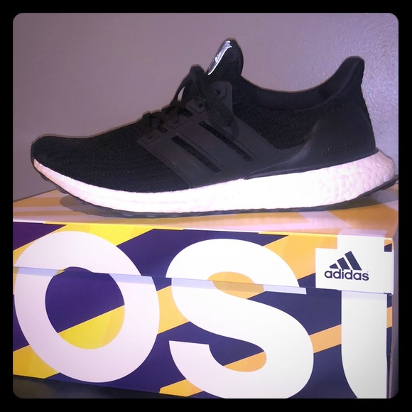 aa34b1a97 adidas Shoes - Adidas Ultra boost Black and White 8.5